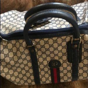 COPY - Vintage Gucci traveling bag